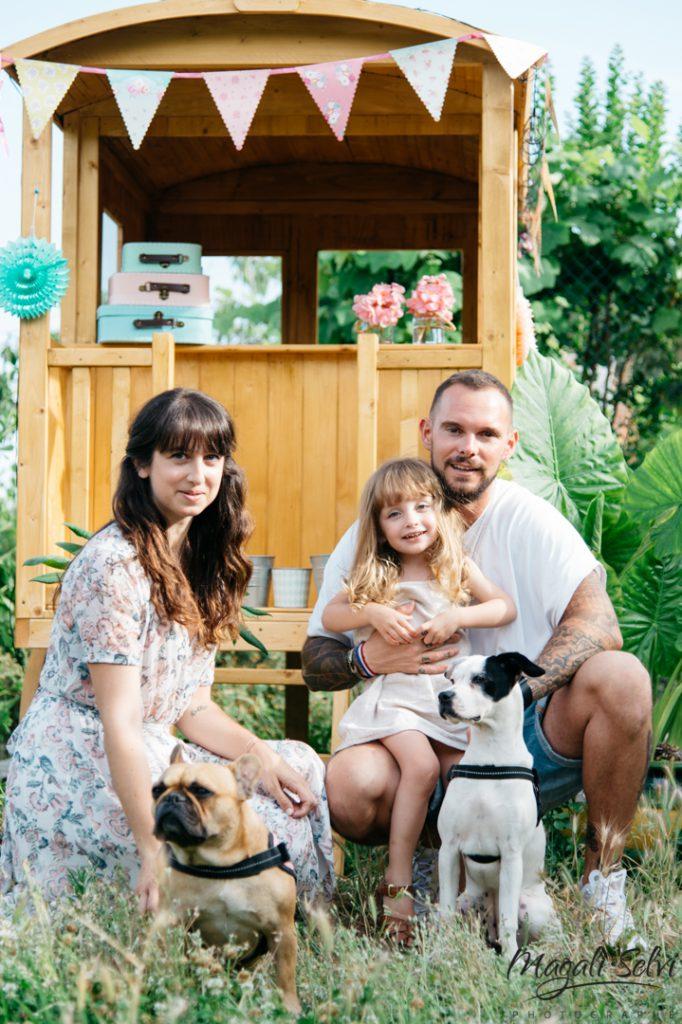 Reportage photo famille Magali Selvi