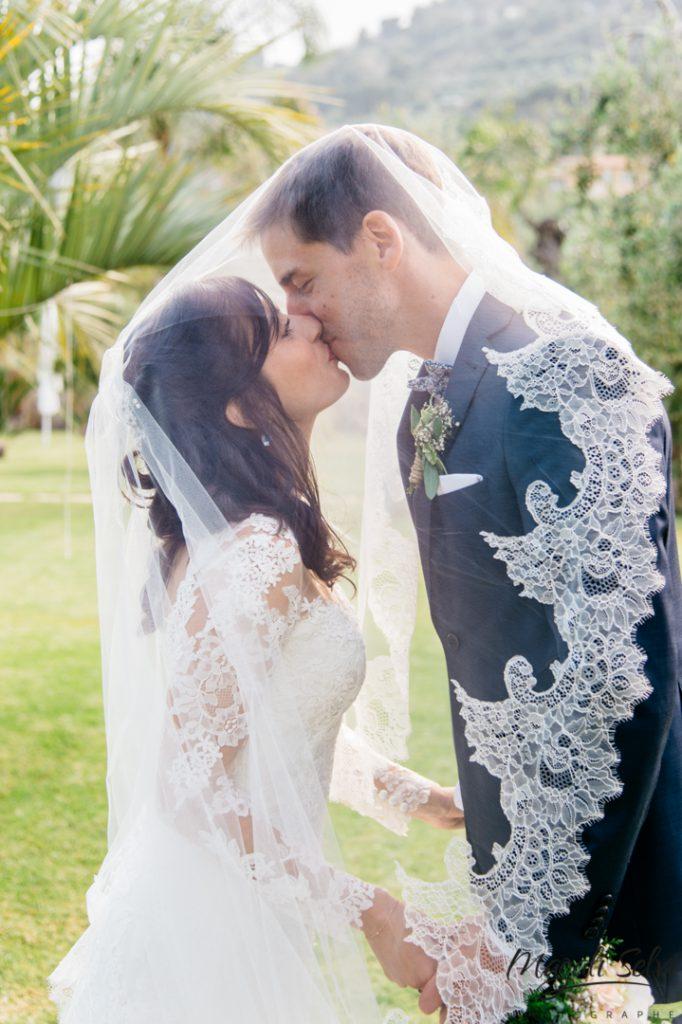Photo de mariage couple Nice