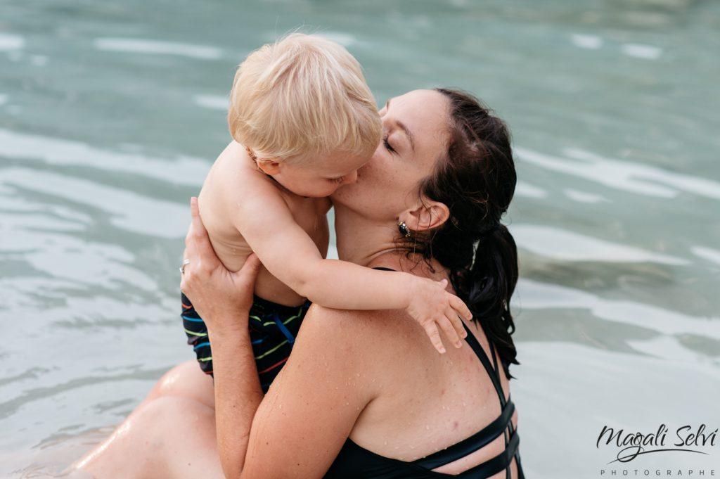 Photo maman enfant Alpes Maritimes - Magali Selvi Photographe