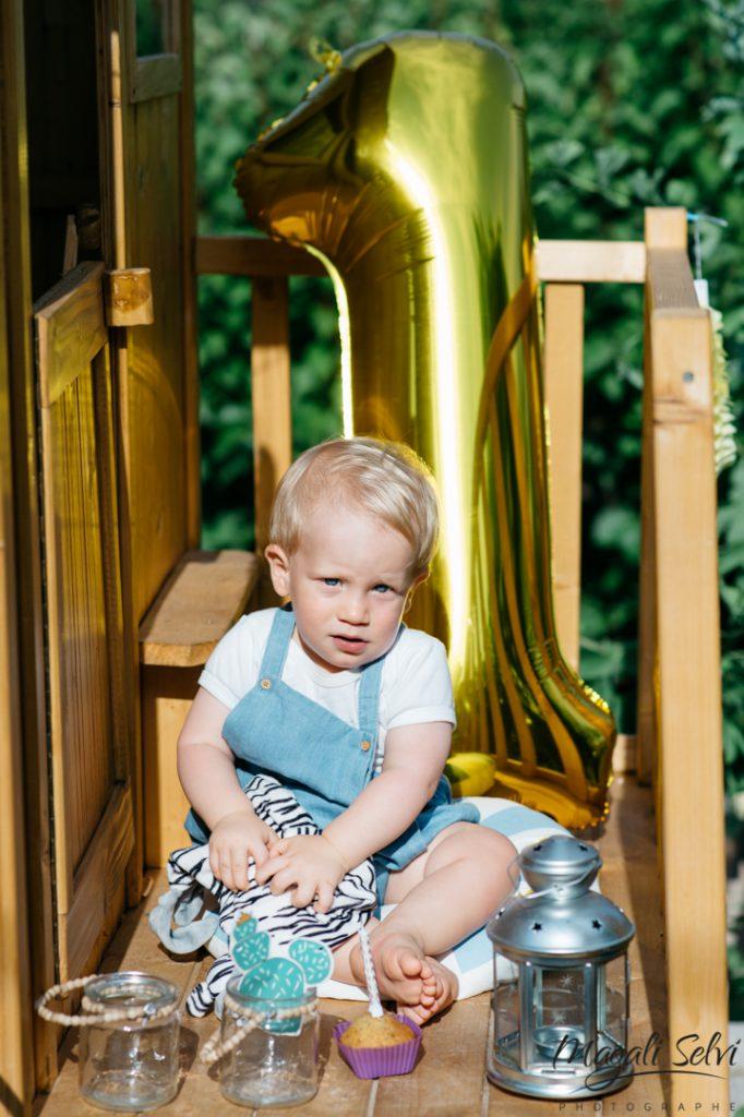 Séance photo enfant anniversaire Magali Selvi
