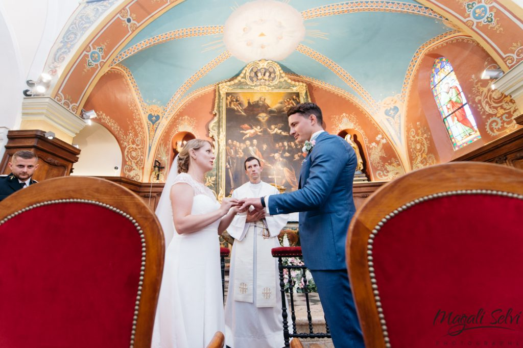 Photo église mariage alpes maritimes