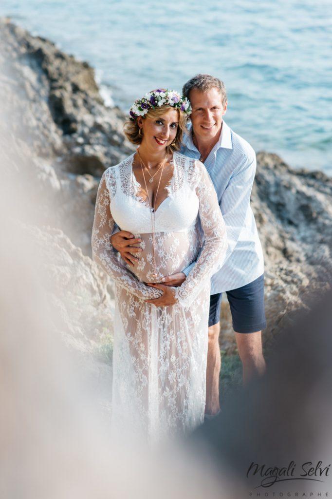 Magali Selvi photographe grossesse Nice
