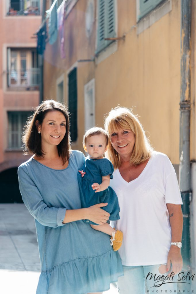 Reportage photo famille Vieux Nice