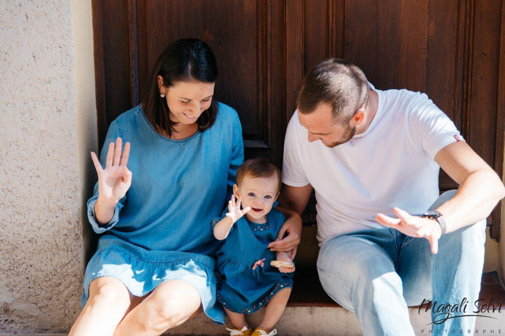 Séance photo famille Vieux Nice