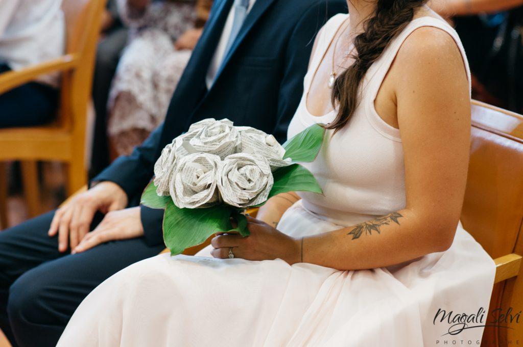 Bouquet mariée zéro déchet