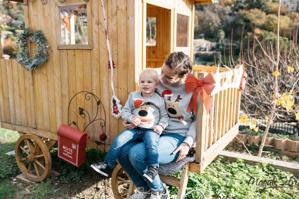 Reportage photo Noël en famille à Nice