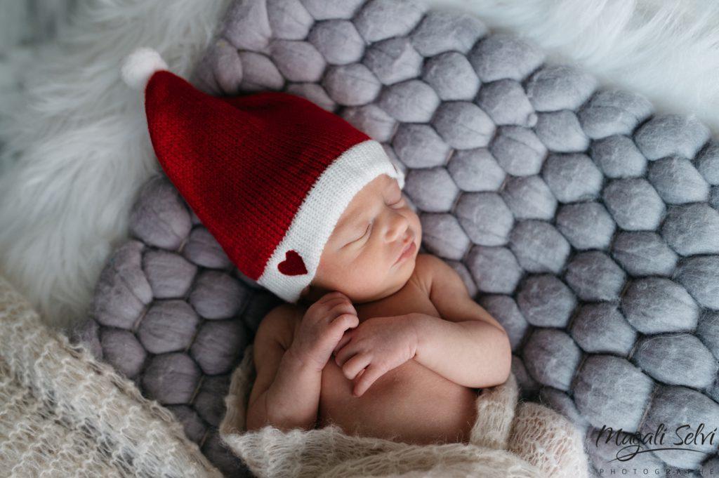 Bébé Bonnet de Noël