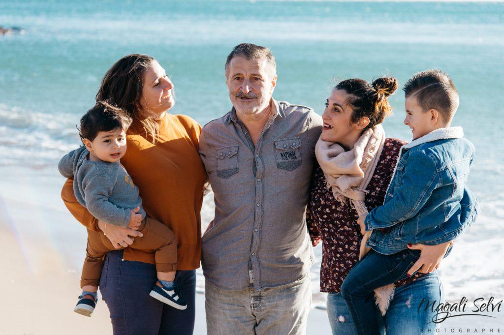 Séance photo famille à mandelieu