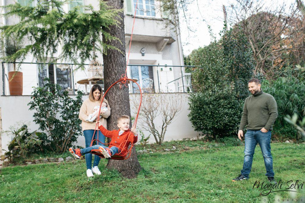 Séance photo lifestyle famille alpes maritimes