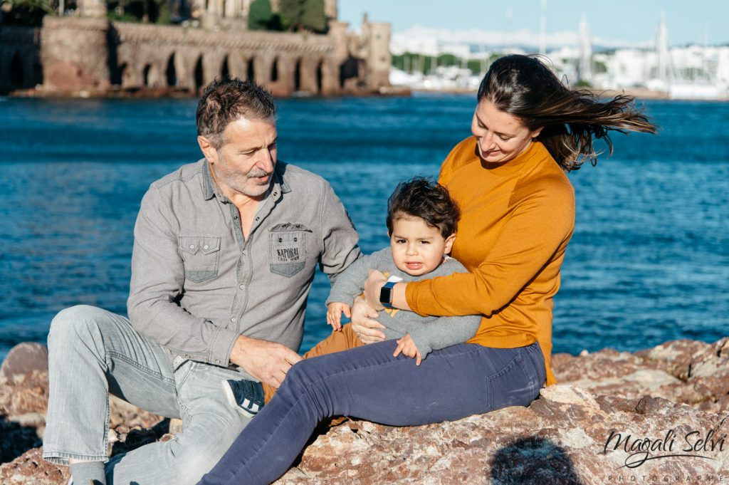Photographe famille alpes maritimes