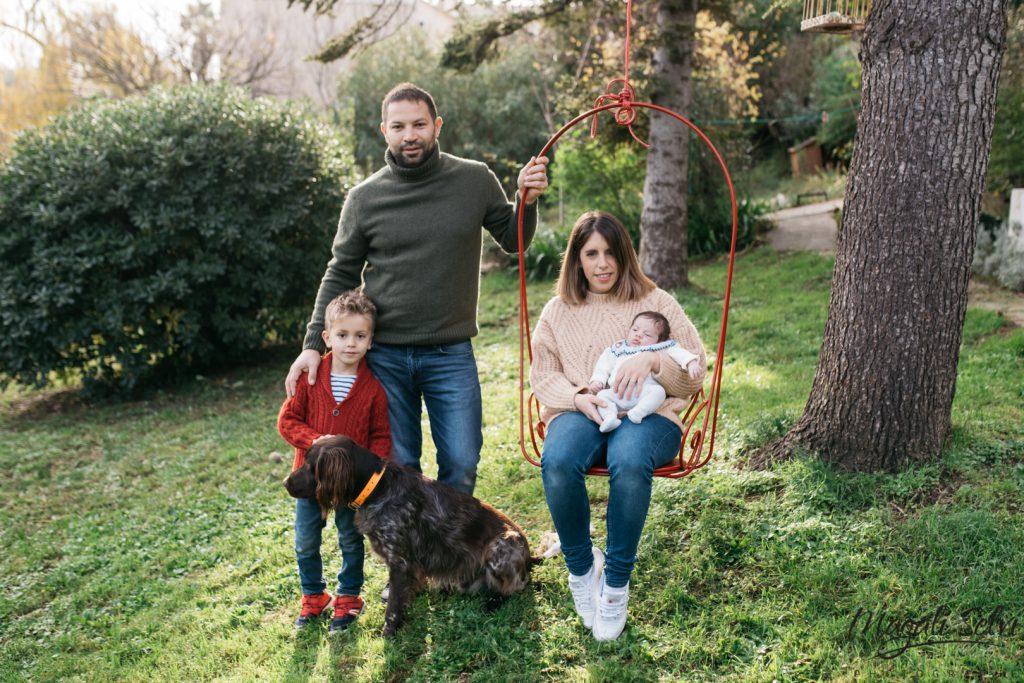 Portrait de famille Alpes Maritimes