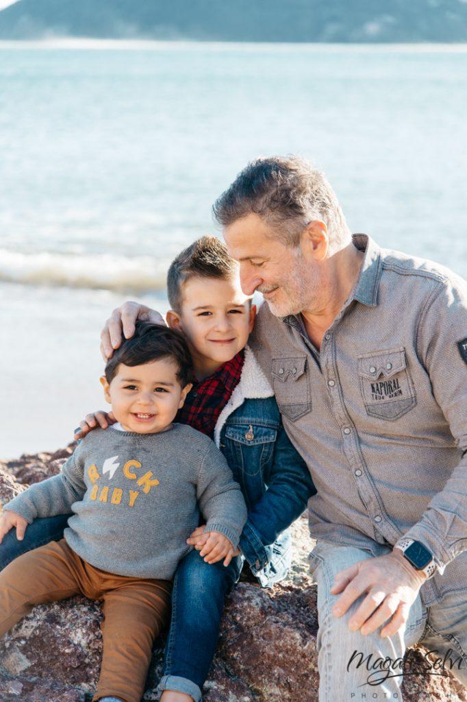 Reportage séance photo famille alpes maritimes