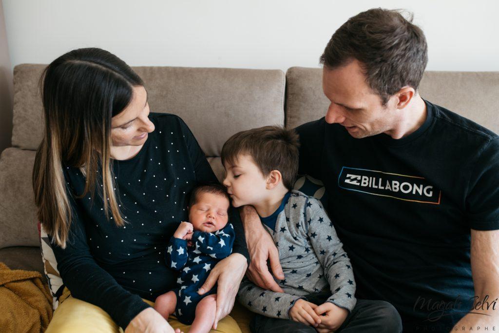 Photo famille et bébé Alpes Maritimes