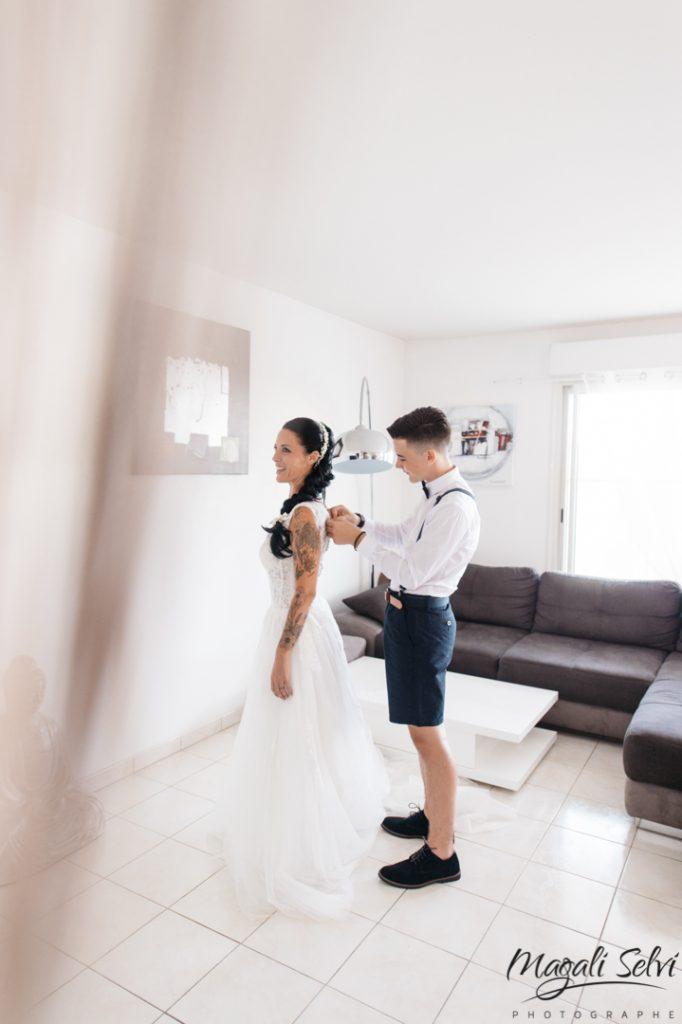 Reportage photo mariage La Colle sur loup