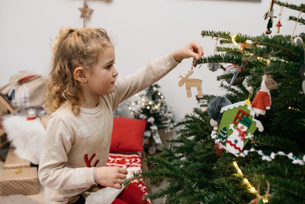 Photographe de Noël famille Nice